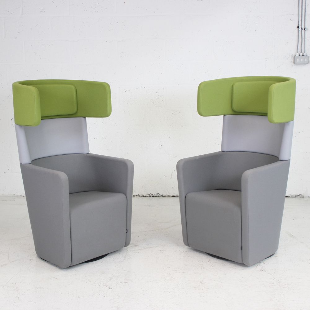 Bene Office Furniture: Bene PARCS Wing Chair - Set Of 2