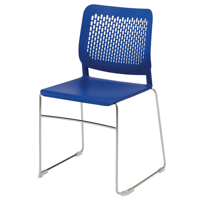 Funky plastic stacking chair plastic caf chair for Funky cafe furniture