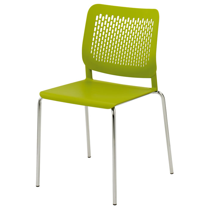 Funky plastic stacking chair plastic caf  chair colourful