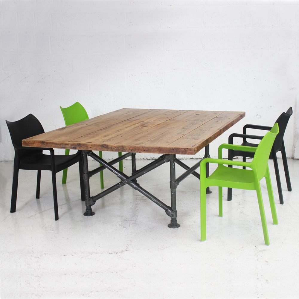 Scaffold Table Vintage Table Scaffold Board Table