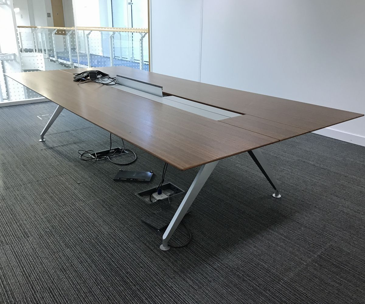 Steelcase Four Point Eight Boardroom Table 3240mm X