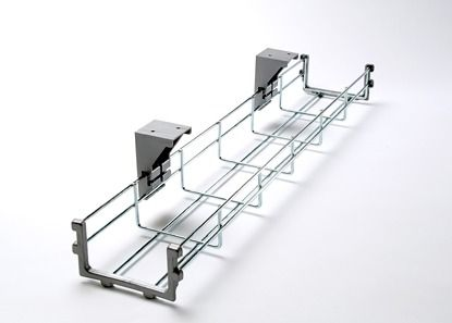 Wire Basket 800mm Cable Tidy Under Desk Wire Organiser