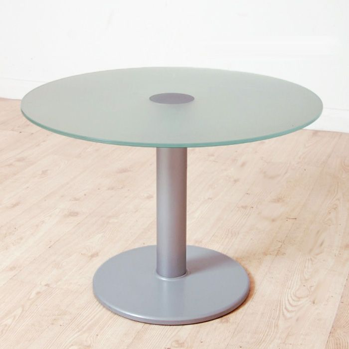 650mm Diameter Round Glass Coffee Table Circular Glass Table