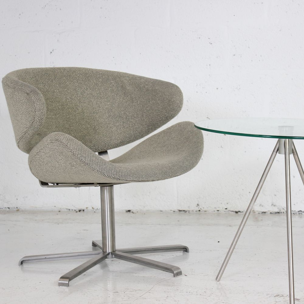 size 40 1fcd3 40e19 Low Reception Chair on Return Swivel Base Price includes Re-upholstery in  ANY COLOUR