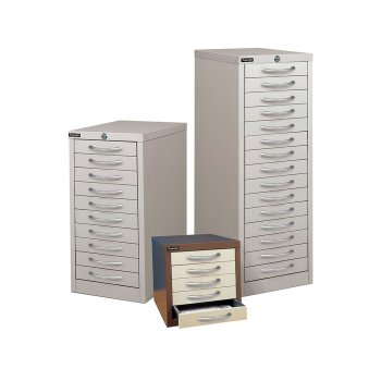 Triumph Multi Drawers | thin office drawers | shallow office filing drawers