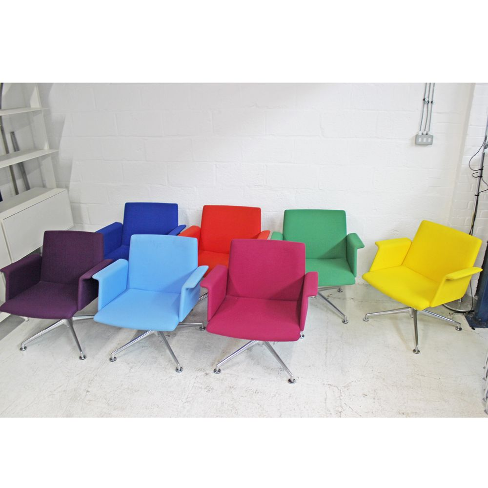 Brunner Fina Lounge Chair | Colourful Chair | Swivel Armchair