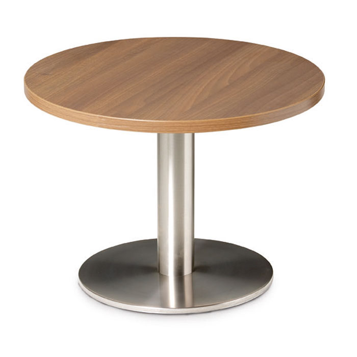 Round Coffee Table Chrome Finish: Circular Coffee Table With Chrome Base