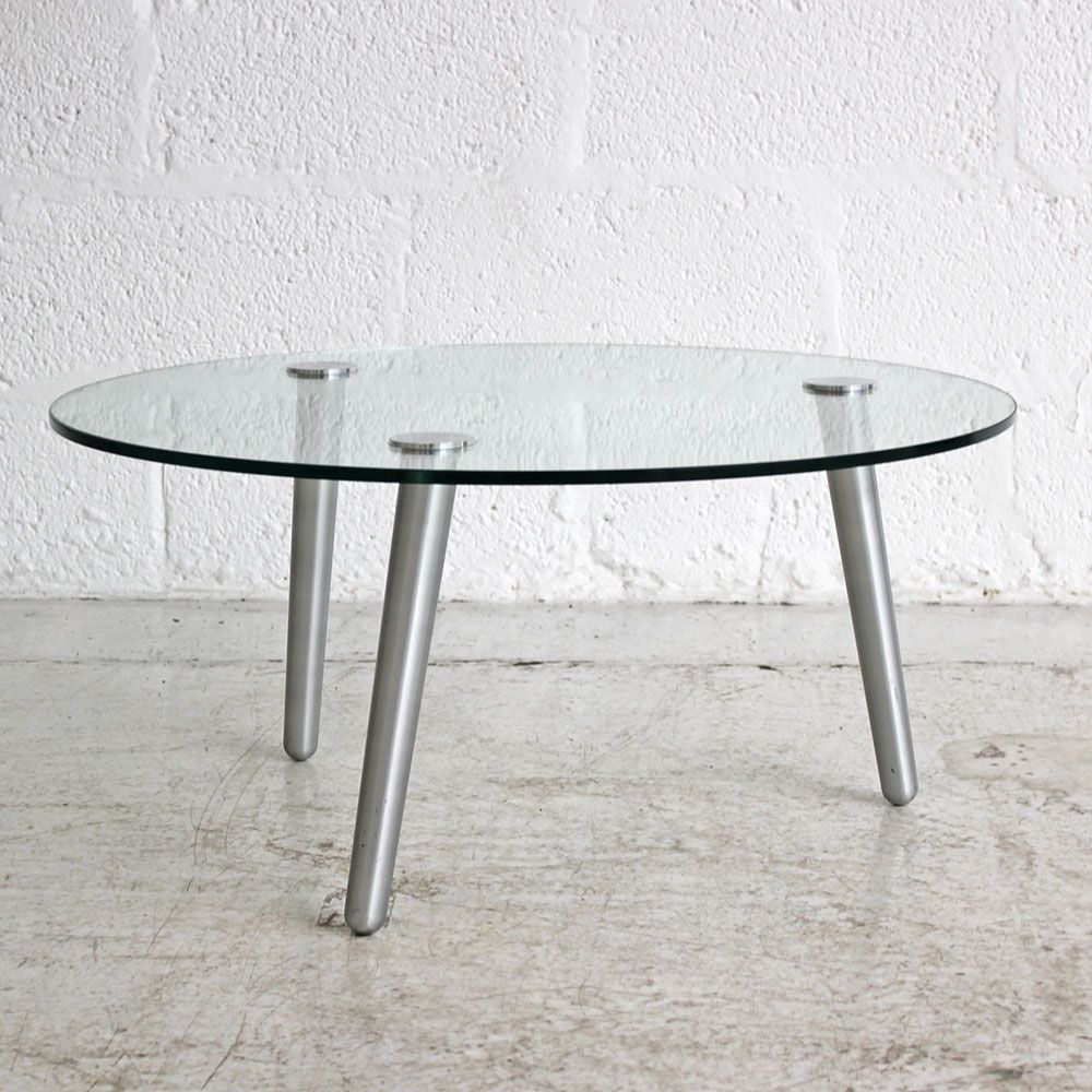 - Circular Glass Coffee Table Small Glass Table Round Glass Table