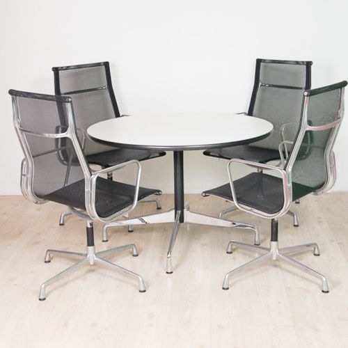 EAMES MEETING SET  4 Original ICF Chairs And Original Vitra Meeting Table |  Meeting Table And Chairs | 0