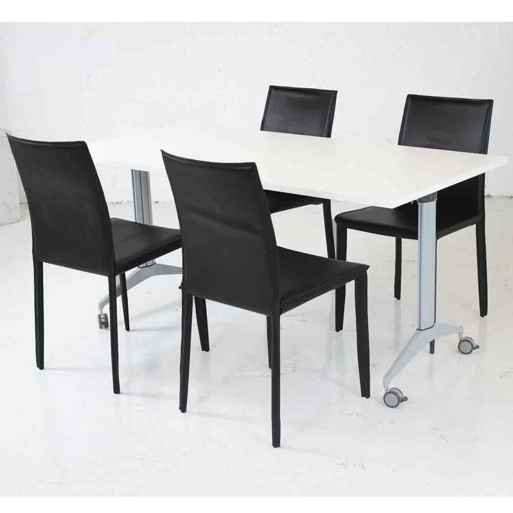 Faux leather meeting room restaurant chairs bistro chair dining room chair - Restaurant dining room chairs ...