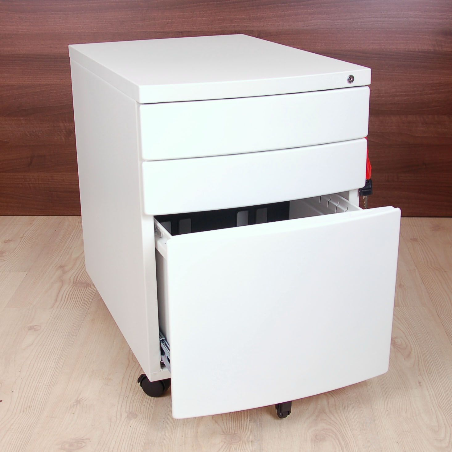 new white pedestal white under desk drawers small filing drawers