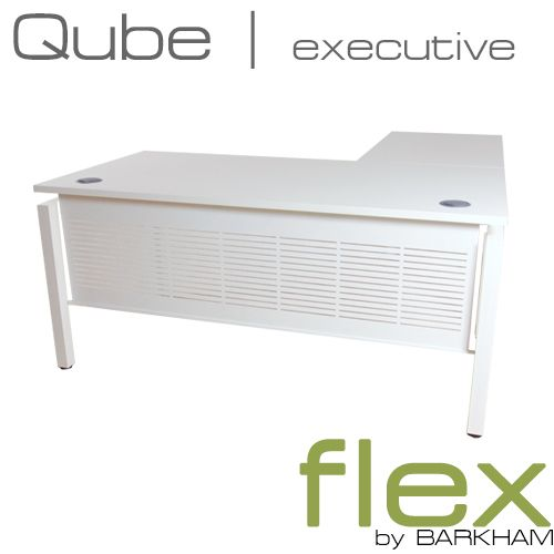 Flex Qube | New Free Standing Desk with Return