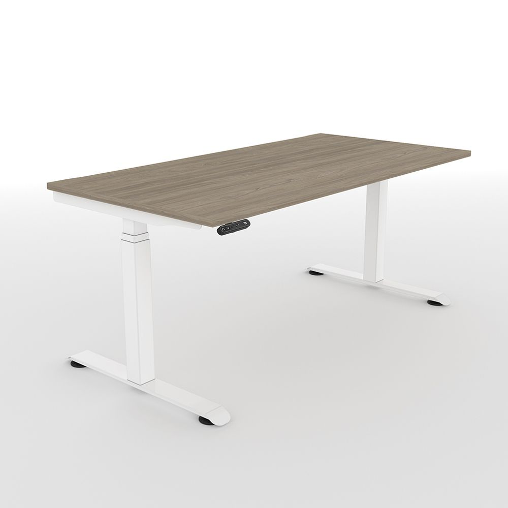 ergonomic manual vivo system up standing office amazon desk height dp crank adjustable stand com products frame steel