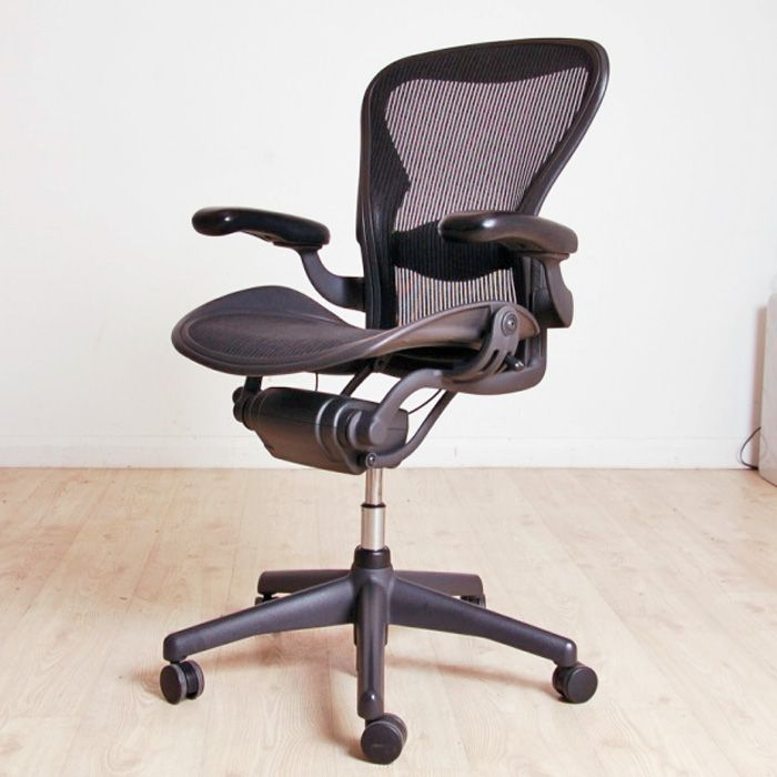 herman miller ergonomic chair. herman miller aeron size b (adjustable arms) | mesh computer chair ergonomic manager o