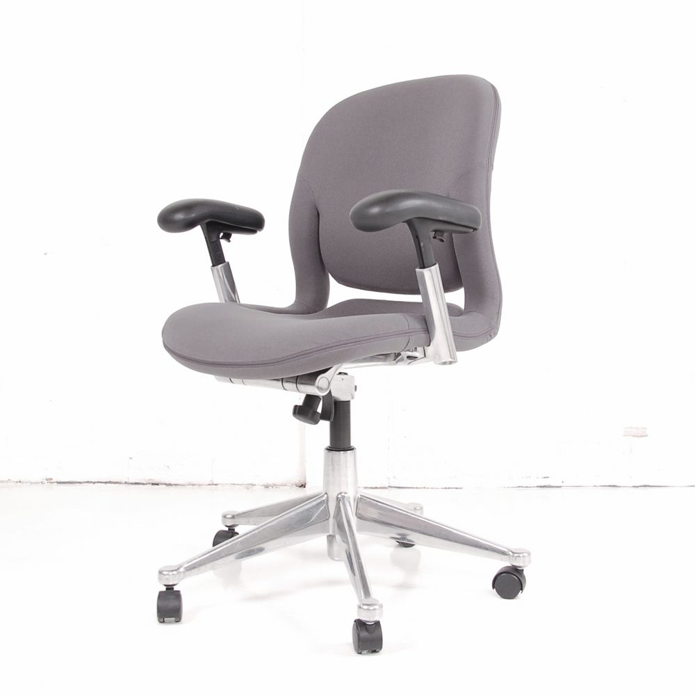 Herman Miller Equa 2 Grey Computer Chair Herman Miller Task Chair