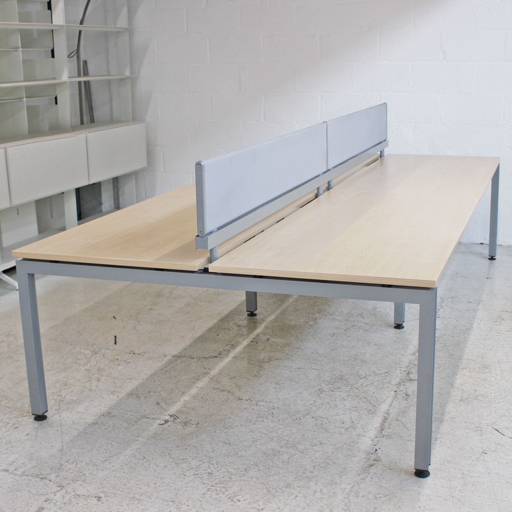 competitive price a53e9 3be0f Herman Miller Sense Bench Desk (Maple and Silver)