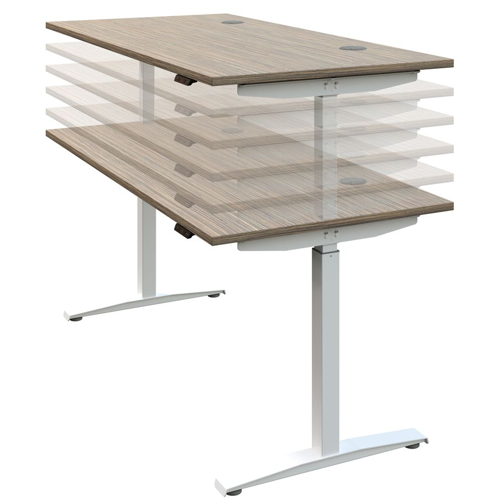 Hirise Sit Stand Desk Single Standing Desk Height