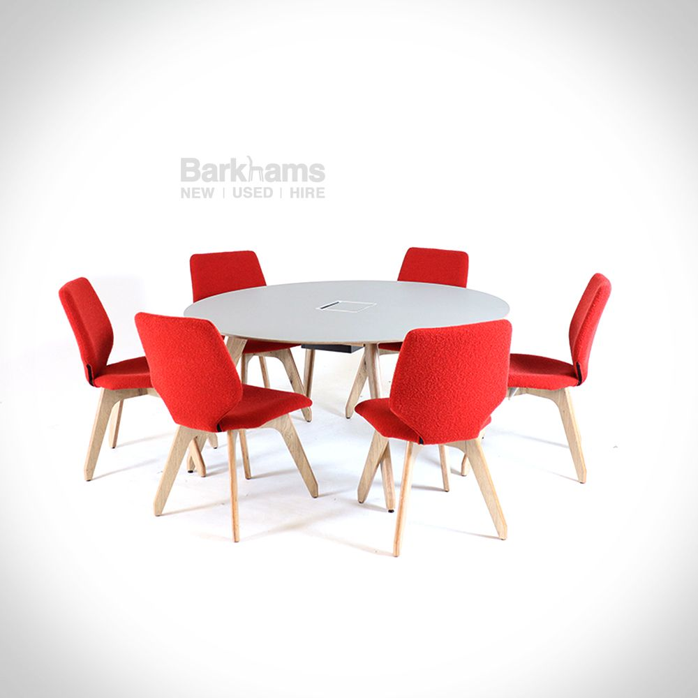 Ligni Meeting Table & Chairs Set