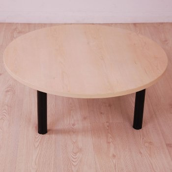 Maple Round Coffee Table 900mm Diameter