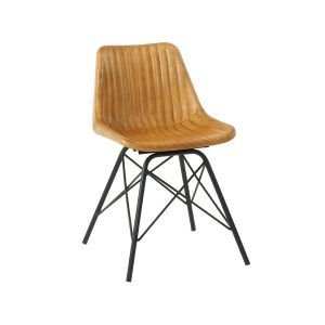 Marco Side Chair - Light Tan