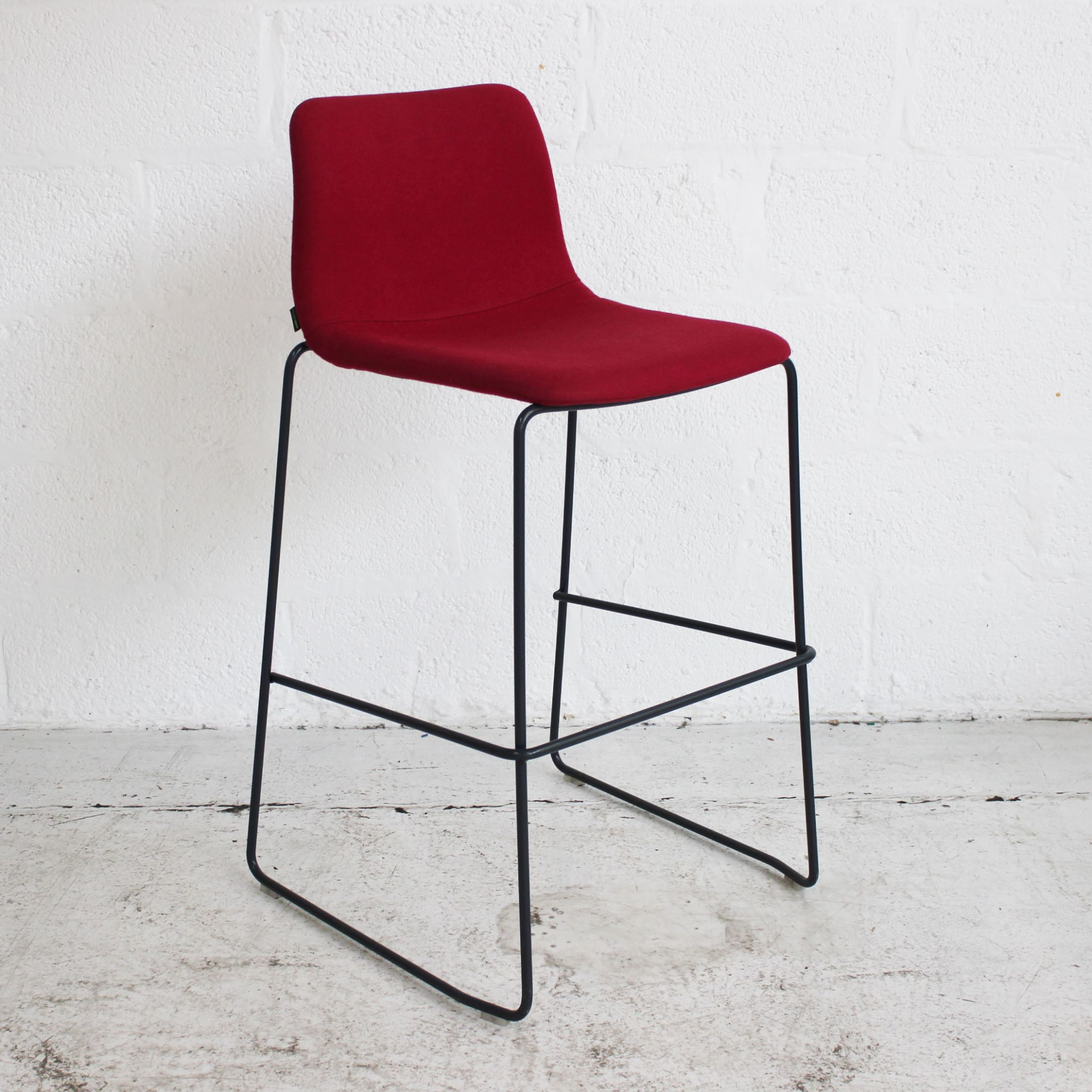 Surprising Naughtone Viv Stool Red Caraccident5 Cool Chair Designs And Ideas Caraccident5Info