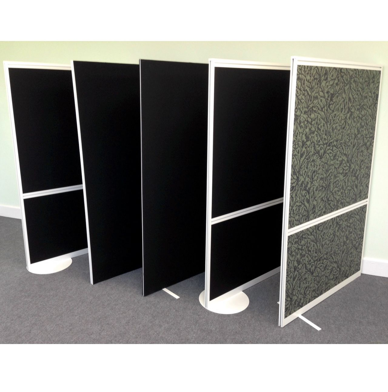 New free standing screens tall office dividers for Free standing