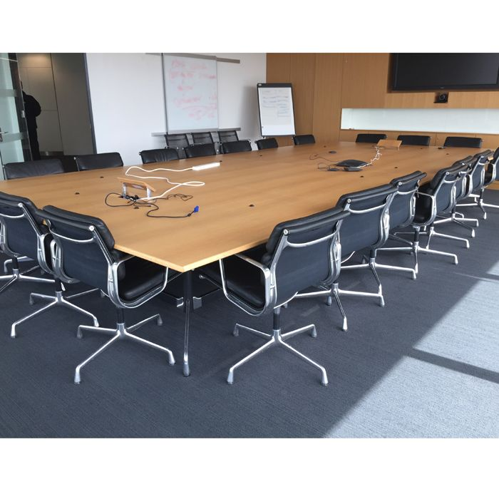 Original Vitra Eames Boardroom Table 5 6l X 2 7d Large