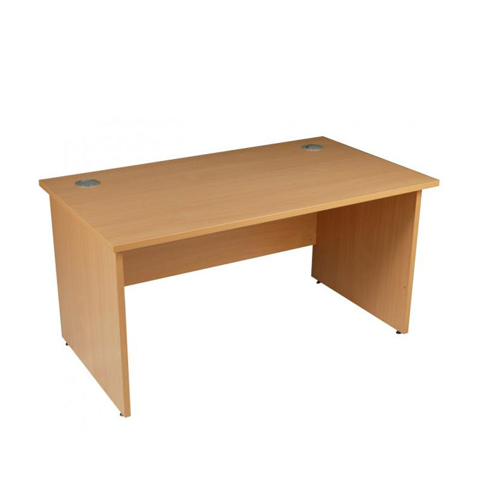 new style 05e74 be66a Panel Ended Rectangular Desk