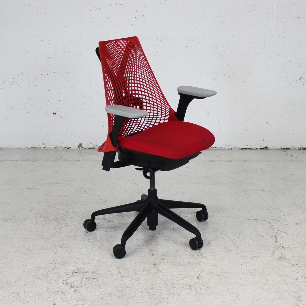herman miller sayl chair red computer chair ergonomic. Black Bedroom Furniture Sets. Home Design Ideas