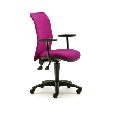 Ribbed Back Task Chair