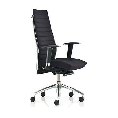 Ribbed High Back Executive Task Chair