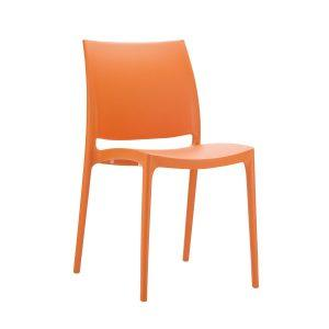 Spice Side Chair - Orange