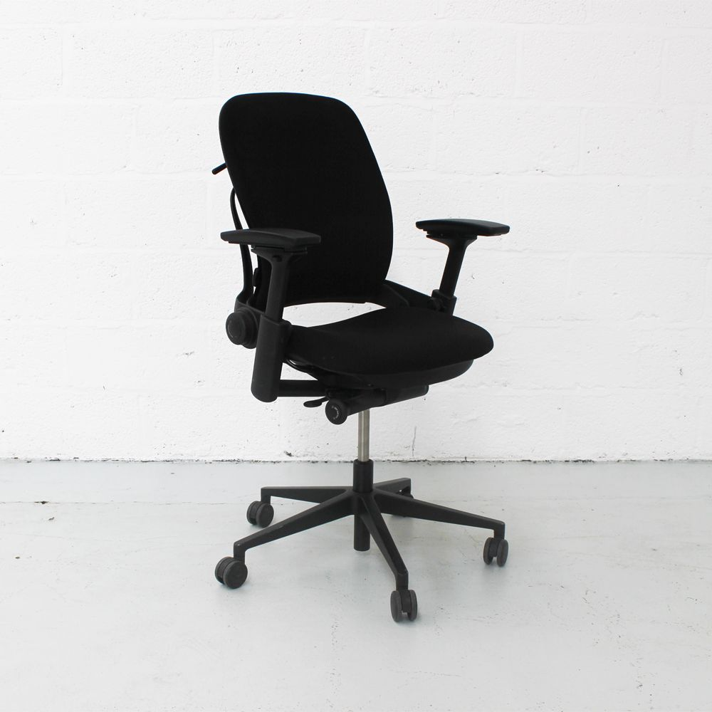 Steelcase Leap Chair V2 Black Computer Chair Ergonomic