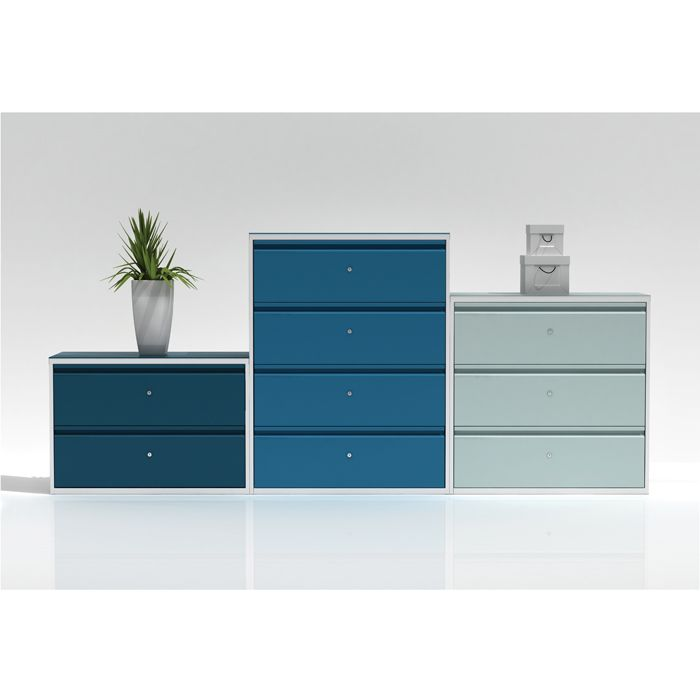 Incroyable Stylish Side Filer In Various Colours | Filing Cabinet | Wide Filing Drawer
