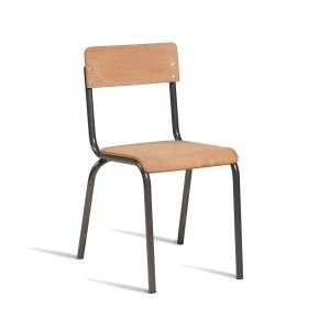 Tube Side Chair - Ply Finish