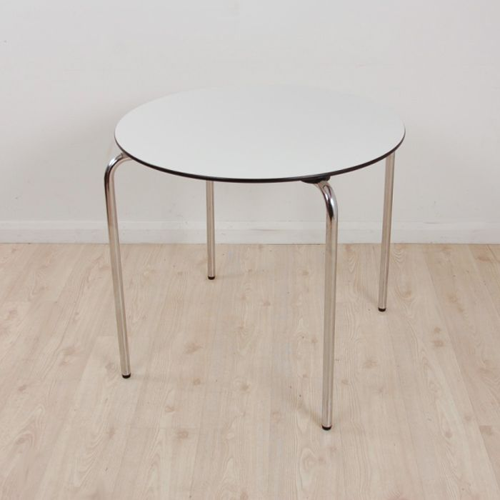 Vitra HAL Table Designed By Jasper Morrison | Round Circular Table |  Designer Canteen Table